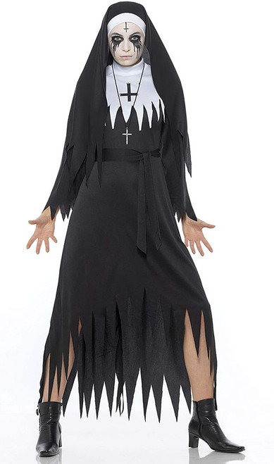 Demon Nun Womens Halloween Costume