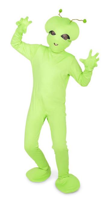 Green Alien Kids Costume