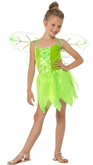 Tinkerbell Fairy Girls Costume