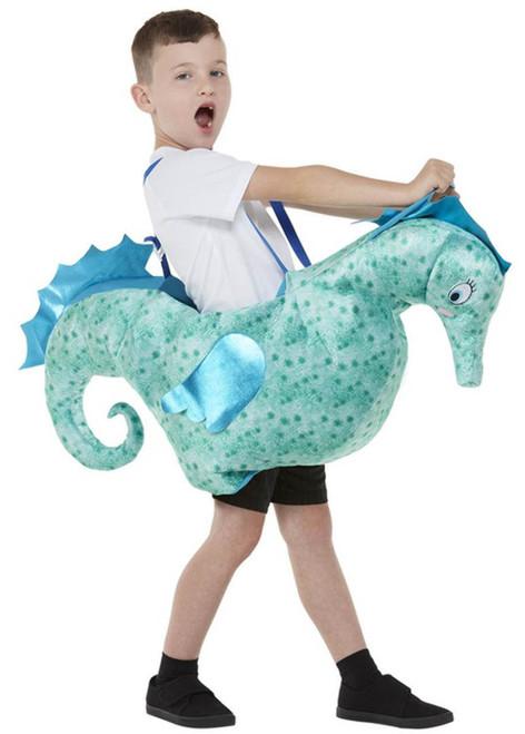 Ride on Seahorse Kids Costume