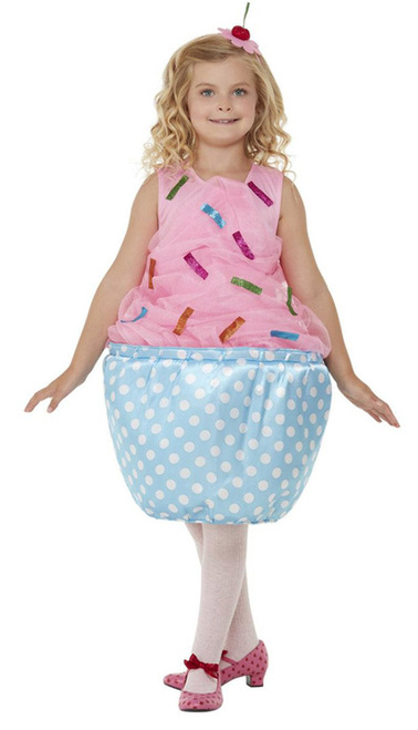 Pink Cupcake Girls Costume