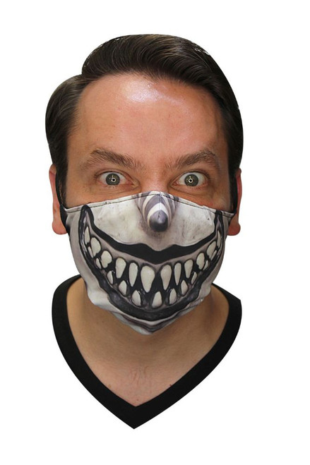 Scary Clown Fabric Mask