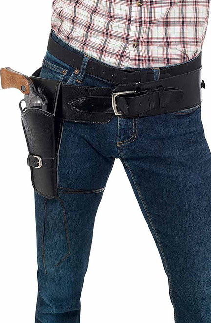 Faux Leather Holster with Belt