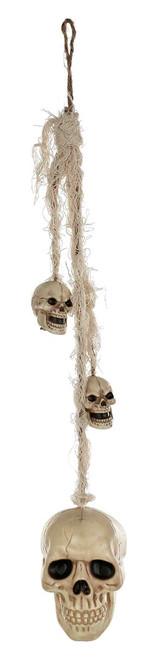Hang Your Head Skull Halloween Decor