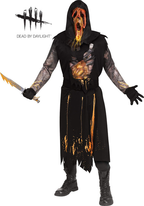 Scorched Ghost Face Men Costume