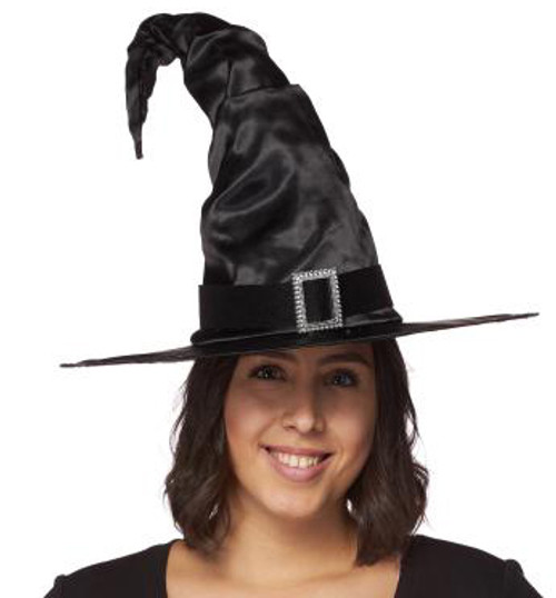 Classic Witch Satin Hat
