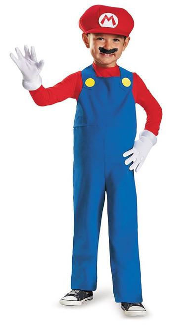 Super Mario Toddler Boy Costume