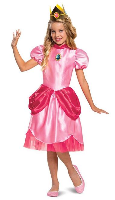 Princess Peach Classic Girl Costume