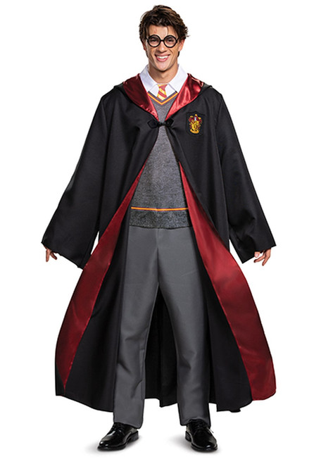 Harry Potter Deluxe Men Costume with Jumpsuit