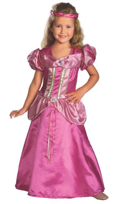 Fairy Tale Pink Princess Girl Costume