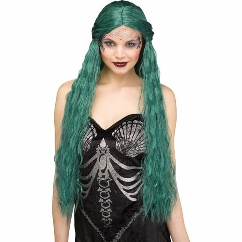 Mermaid Teal Wig