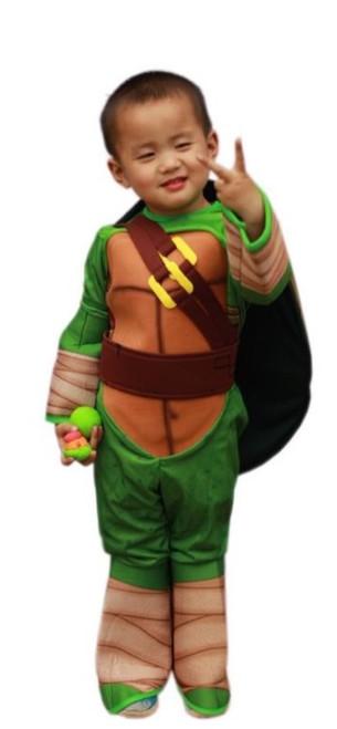 Red Ninja Turtle Kids Costume