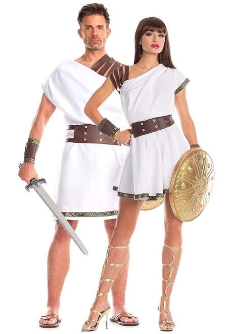 Roman Gladiator couple Costume