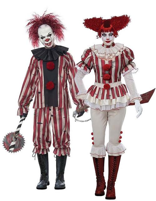 Nightmare's Clowns Couple
