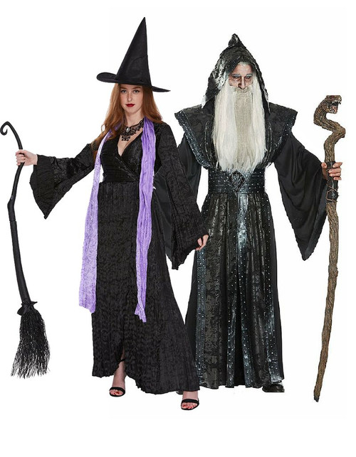 The Witch and the Wizard