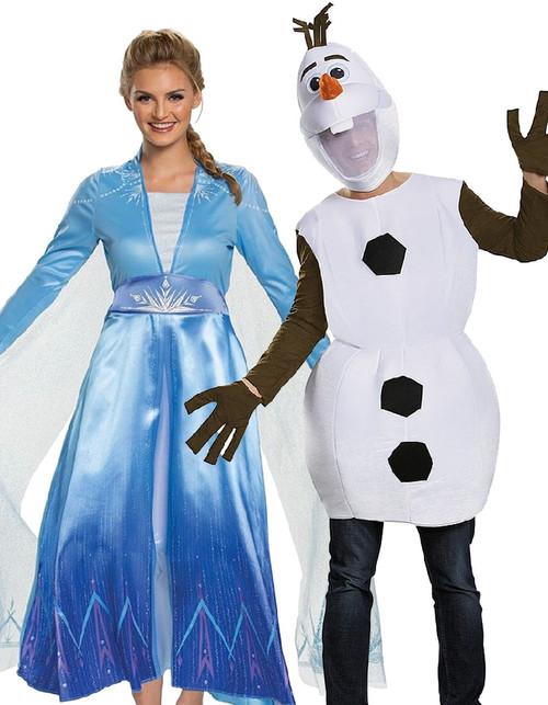 Elsa and Olaf Couple