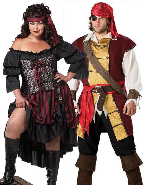 Pirate Couple Plus