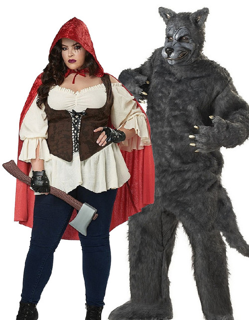 Red Riding Hood Couple Plus