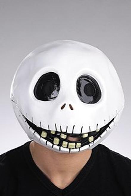 Jack Skellington Adult Vinyl Full Mask