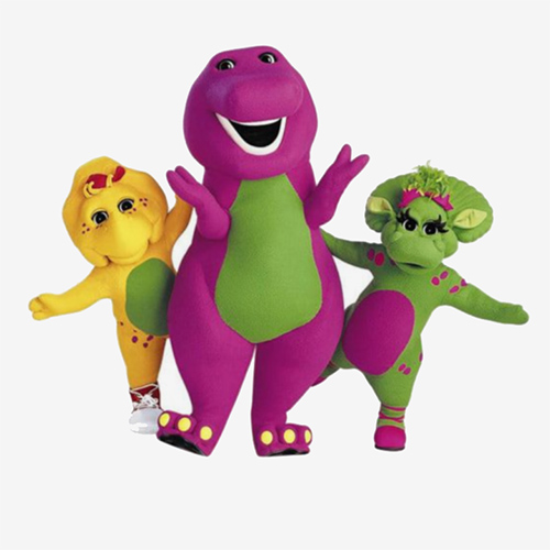 Barney and friends costumes