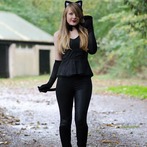 Black cat Costume DIY