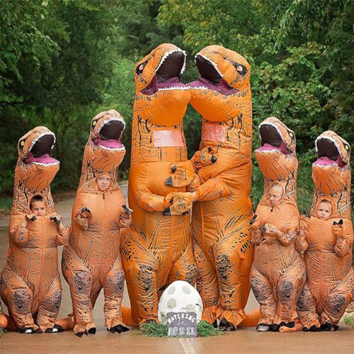 Inflatable T-Rex Costumes for Ice Age: Dawn of Dinosaurs Costume