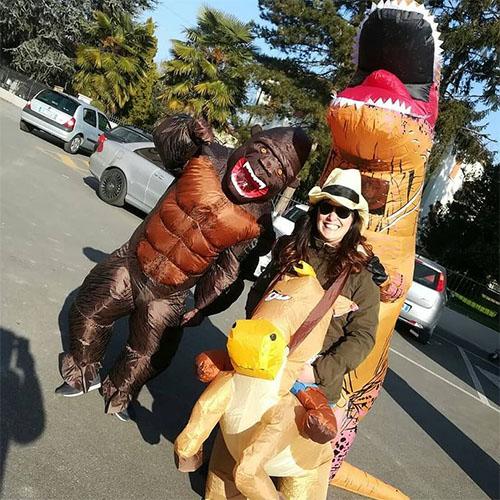 Inflatable Costumes for Godzilla vs Kong