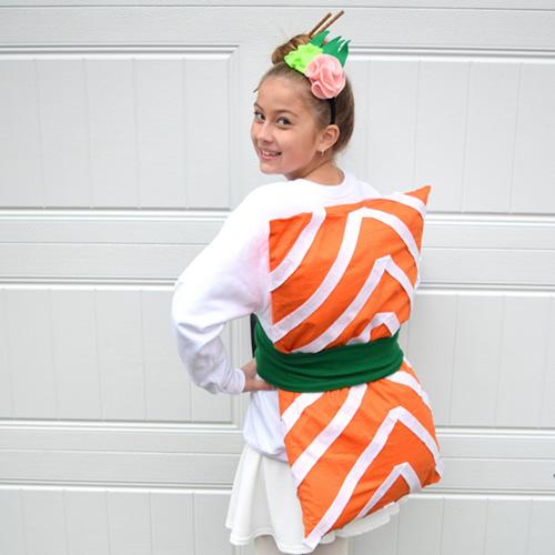 Homemade Sushi Costume