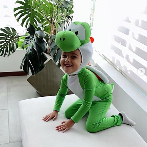Child Dressed as Yoshi