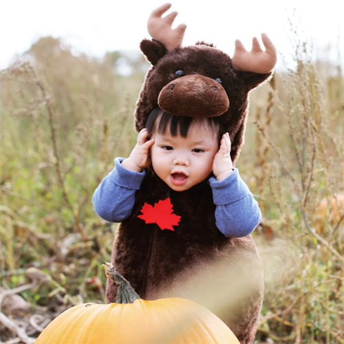 Child Moose Costume for Canada Day