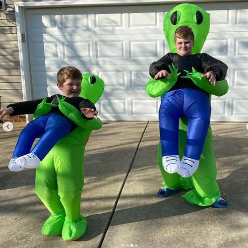 Alien Abduction Inflatable Costume