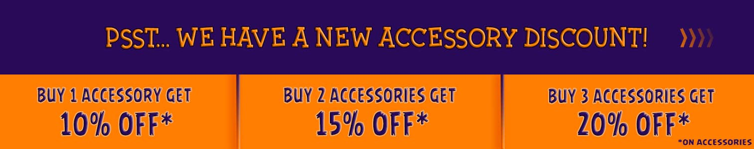 Halloween Accessories Promo