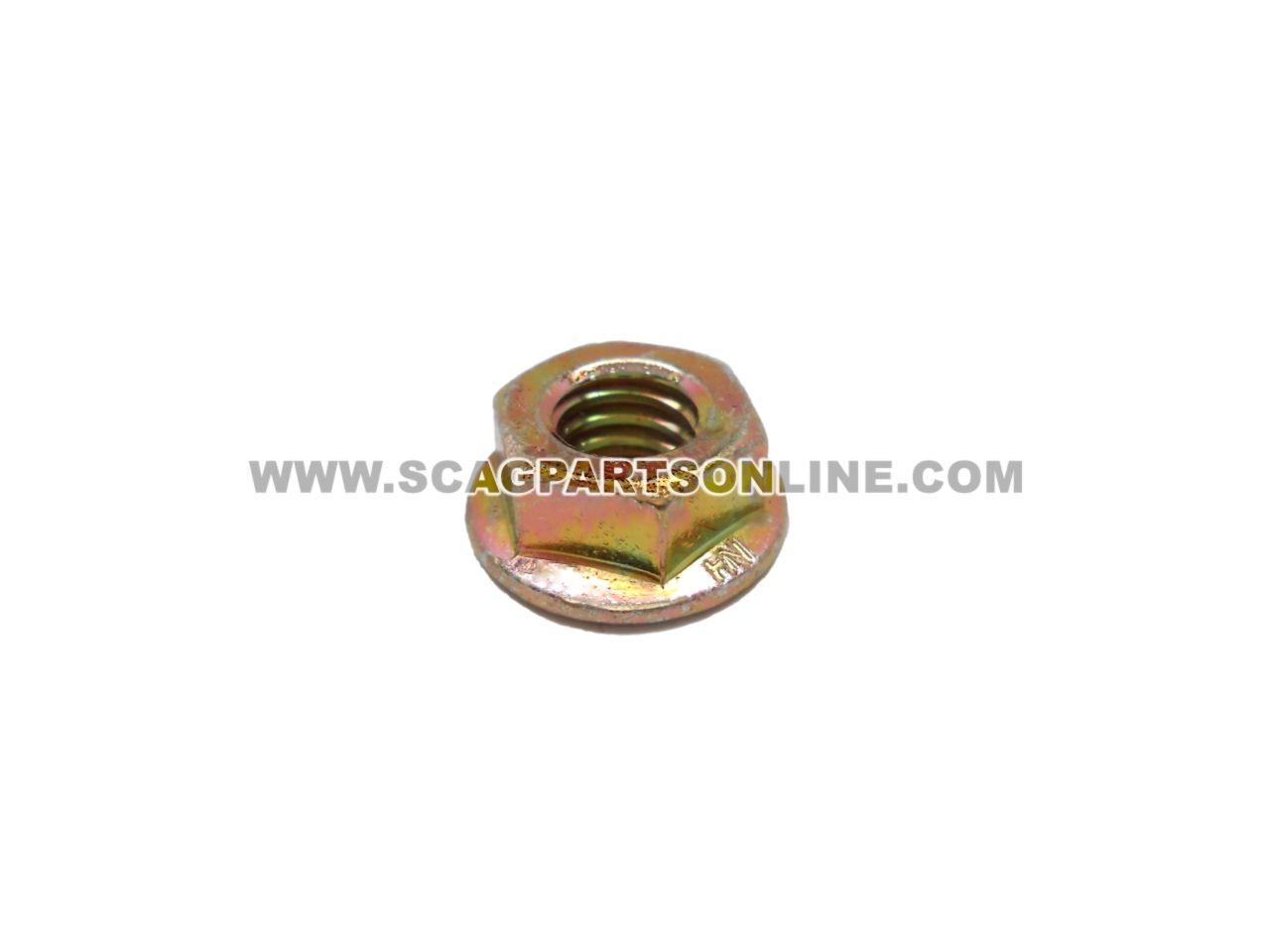 Scag NUT, 5/16-18 SERR FLG HH ZINC 04019-03 - Image 1