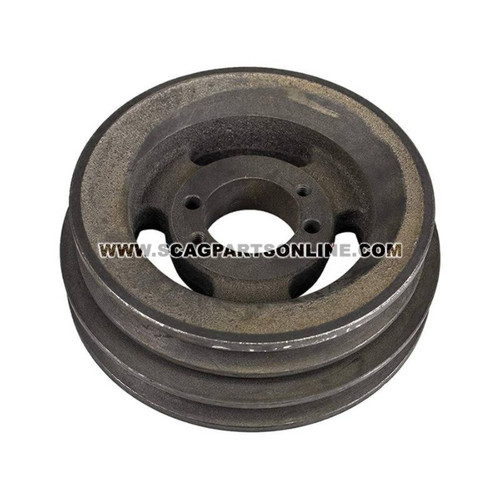 Scag PULLEY 6.35 OD-DOUBLE GROOVE 48940 - Image 1