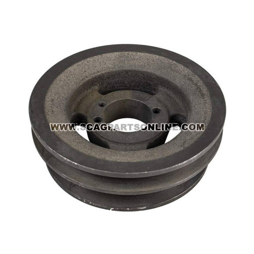 Scag PULLEY 6.35 OD-DOUBLE GROOVE 48940 - Image 2
