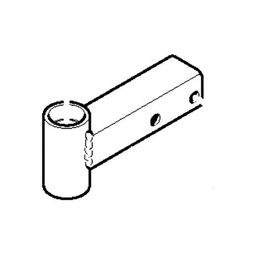 Scag EXT WELDMENT, CASTER RH-SMT 451957 - Image 1