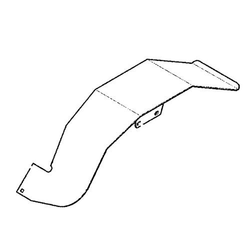 Scag FENDER WELDMENT, LH 451480 - Image 1