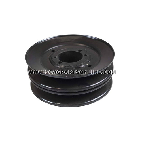Scag PULLEY, 5.73 OD - DBL GROOVE 483285 - Image 1