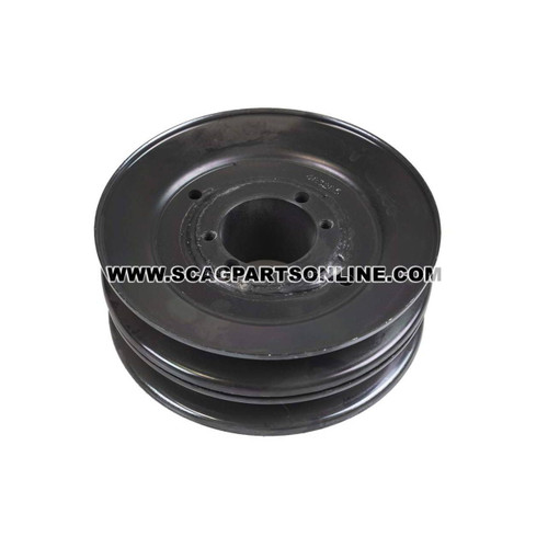 Scag PULLEY, 5.73 OD - DBL GROOVE 483285 - Image 2