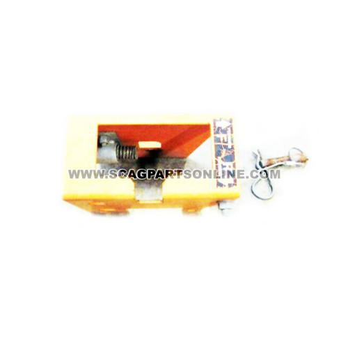 Scag CONTROL PLATE W/ DECAL, RH 461602 - Image 2