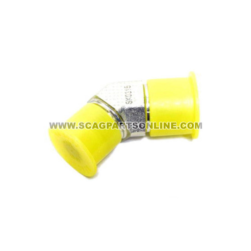 Scag ELBOW, 45 DEGREE 3/4-16 JIC X 3/4-16 48573-02 - Image 1
