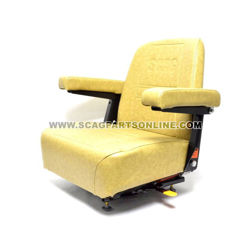 Scag SEAT ASSY W/ ADJUSTER RAILS 482551 - Image 1