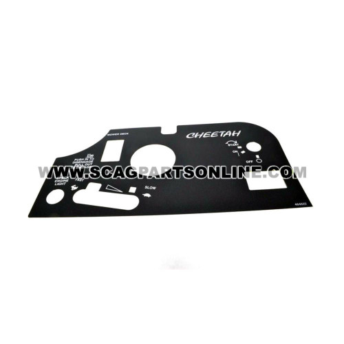 Scag DECAL, INSTRUMENT PANEL 484622 - Image 1