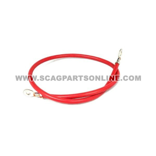 "Scag BATTERY CABLE, 25"" RED 48029-13 - Image 1"