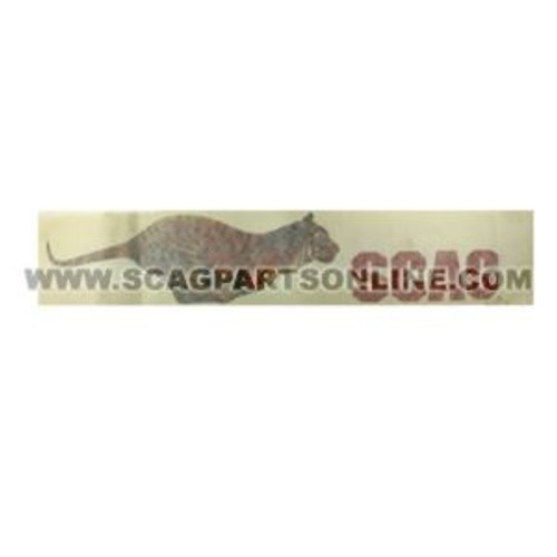 Scag DECAL, TIGER 481694 - Image 1
