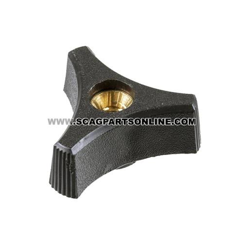 Scag 1/4-20X3/4 PLASTIC WING NUT 04029-01 - Image 2
