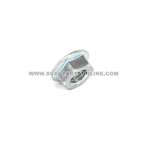 Scag NUT, 7/16-14 SERR FLG HH ZINC 04019-05 - Image 1