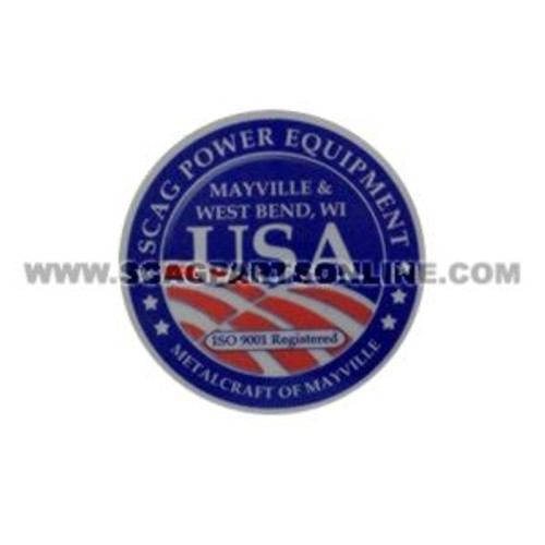 Scag DECAL, USA 485403 - Image 1