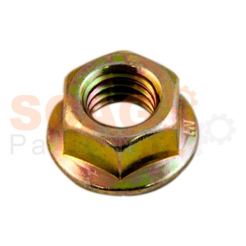 Scag NUT, 3/8-16 SERR FLG HH ZINC 04019-04 - Image 1