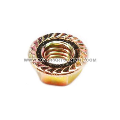 Scag NUT, 3/8-16 SERR FLG HH ZINC 04019-04 - Image 2